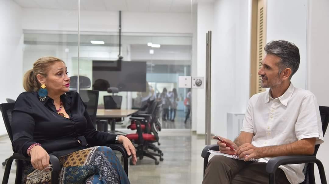 Nodocente de la UNVM de intercambio en Colombia