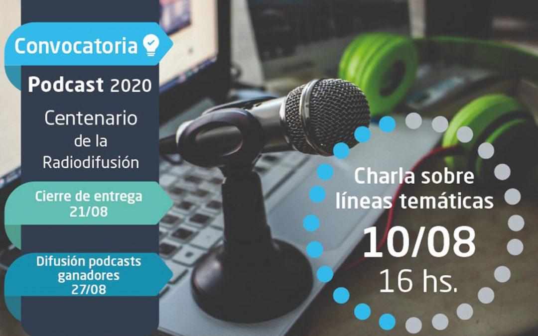Concurso de Podcasts por el Centenario de la Radiodifusión