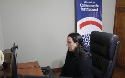 Vuelta a la presencialidad en la Secretaría de Comunicación Institucional.